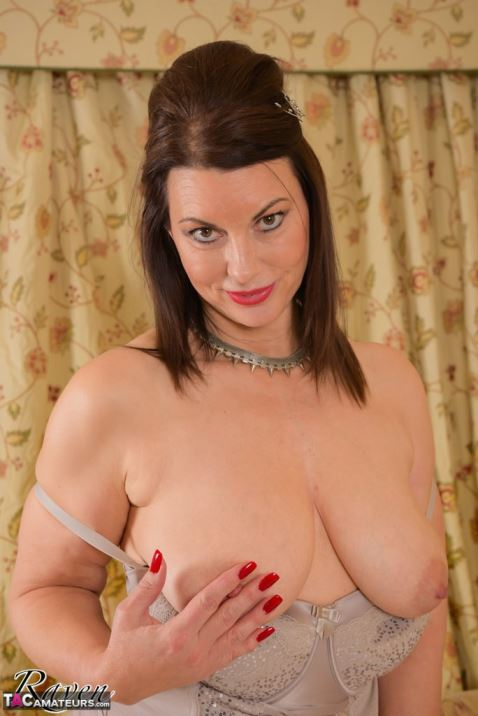 image Hot british milf collection always stockings and boots